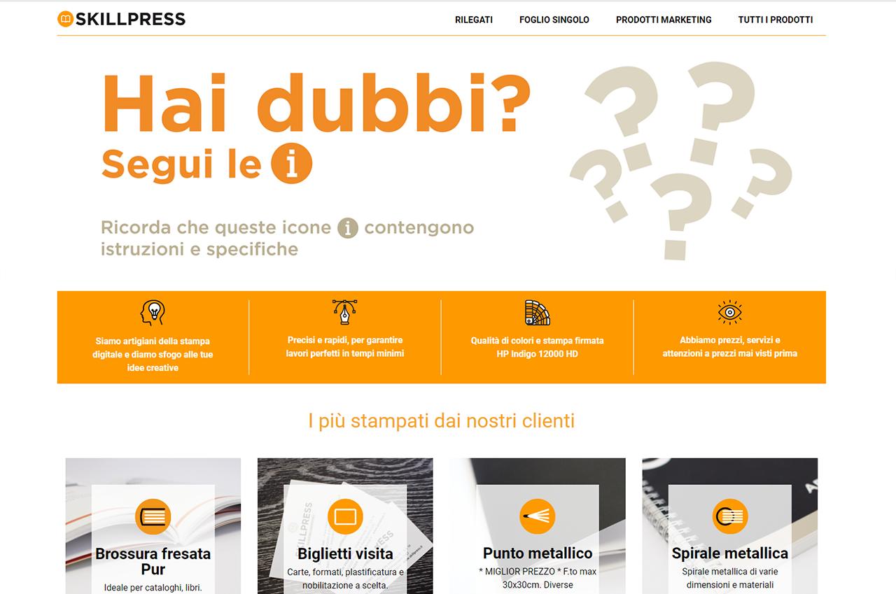 2fa5d16b53 Skillpress: portale per la stampa digitale online